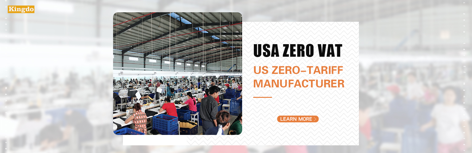 USA Zero Tariff manufacturer of backpack bags